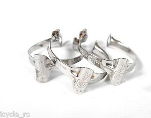 Campagnolo Bicycle Top Tube Cable Guide Stainless Clips 25.4 mm Set Of 3 NOS