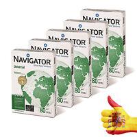 Navigator NAV0317 Universal - Folios de papel multifunción (5 paquetes 2500)