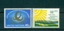Nations Unies New York  1981 - Michel n. 371/ 72- Sources d'énergie nouvelles