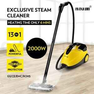 13in1 Steam Cleaner Mop High Pressure Steamer Carpet Floor Window w/ Accessories