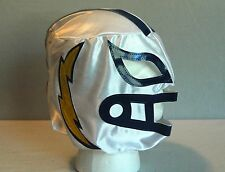 White SAN DIEGO CHARGERS FOOTBALL ADULT Lucha Libre Wrestling MASK NEW nfl
