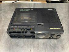 Marantz Pmd201 Portable Professional Cassette Recorder