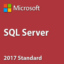 SQL Server 2017 Standard 24 Cores Unlimited CAL Product Key/ 30 Sec Delivery