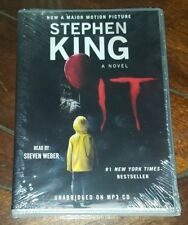 It : A Novel by Stephen King (2017, MP3 CD, Unabridged) Free Shipping!