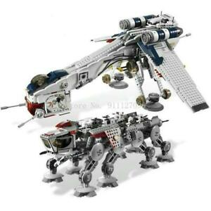 Star Wars Republic + At-ot Walker Equivalent 10195 Compatible With!!!