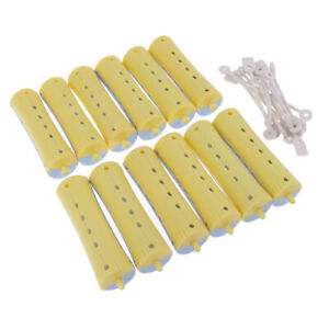12Pcs Professional Perming Rods Rollers For Waves All Size Styling DIY