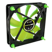 Gelid Gamer 120mmx120mmx25mm Wing 12 UV Green Fan (Retail Pkg)