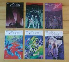 The Woods: #1 #2 #3 #5 + 2 Rare #1 Variants - Lot of 6 Unread 2014 Boom! Comics