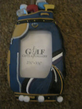Golf Bag Picture Frame 2 1/2 inches X 3 1/2 inches opening