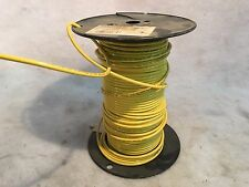 Yellow Stranded Machine Tool Wire Approx 250ft.