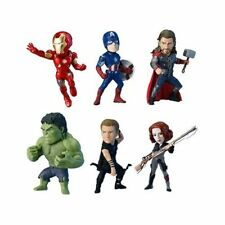 World Collectable Figure Marvel The Avengeras Complete x6 pcs set Banpresto new.