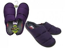 Summit Camping Unisex Slippers XL Water Resistant Thermal Fleece Warm Purple