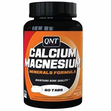 QNT Calcium & Magnesium Bone Tooth & Muscle Growth Tablets - 60 Caps **SALE**