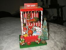 "Christmas Toy Shop Music Box ""It's a Small World""  -- Enesco 1983"