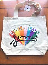 """Ban.do Bando Canvas Tote - Bag - Shopping Beach Work Bag """"Endless Summer"""""""