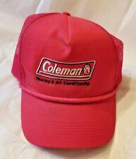 Coleman Lanterns Heating And Air Hat Cap Snapback Trucker