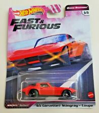 Hot Wheels '65 Corvette Stingray Coupe Red #5 Fast & Furious Quick Shifters 5/5
