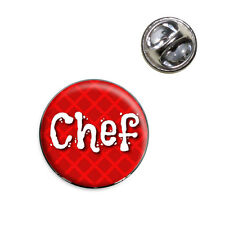 Chef Cook and Food Lover Lapel Hat Tie Pin Tack