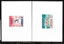 LIBERIA Sc 413-C157 NH DELUXE SHEETS of 1964 - OLYMPICS