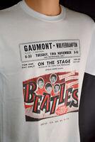 The Beatles Concert Flyer T Shirt New Vintage Retro Style Rare