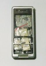 Silver Housing Cover Case Fascia Faceplate facia for Sony Ericsson C510i