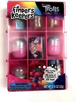 Trolls world Tour Finders Keepers set toys stickers candy NEW collectible case
