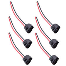 6Pcs Ignition Coil Connector Plug Harness 90980-11246 For Toyota MR2 Lexus LS400