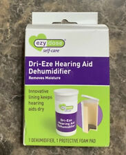 Ezy Dose Dri-Eze Hearing Aid Dehumidifier Removes Moisture Brand New