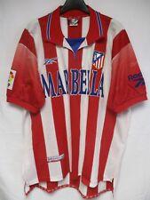 Maillot ATLETICO MADRID 1999 REEBOK camiseta vintage jersey shirt football LFP L