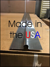 "100 - 4' Omega Aluminum Radiant Floor Heat Transfer Plates for 1/2"" Pex"