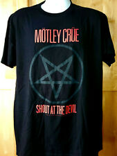 "MOTLEY CRUE T-Shirt  ""Shout At The Devil"" Official/Licensed S, M, L, XL, 2XL NEW"