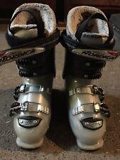 Chaussure Ski Junior Nordica Supercharger gris translucide Mondotaille 21.0-21.5