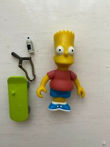 PLAYMATES INTERACTIVE THE SIMPSONS SERIES 1 BART SIMPSON ACTION FIGURE WOS