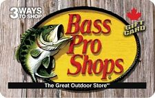 Bass Pro Gift Card- $25 Mail Delivery