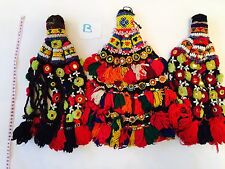 Kuchi Afghan Tribal Vintage Handmade Wall Hanging Tapestry Decor Authentic Des B