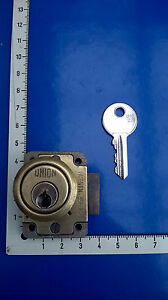 Union Cupboard / Cabinet / Safe / Furniture 4 Pin Brass Lock and Key