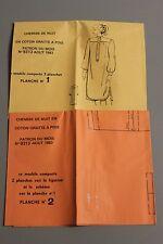 """"""" MODES & TRAVAUX """" PATRON AOUT 1983 + PATRON POUPEE MARIE FRANCOISE JEAN MI A10"""