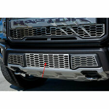 ACC Front Lower Grille Overlay fits 2017 Raptor-Factory Style Stainless/Polished
