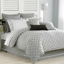 NAUTICA  CLEARWATER GRAY GEOMETRIC FULL   QUEEN  DUVET COVER