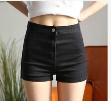 WOMEN'S DENIM SHORT DZ - BLACK (XL)