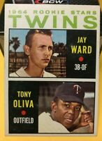 1964 TOPPS #116 TONY OLIVA / JAY WARD ROOKIE STARS MINNESOTA TWINS NM SEE PICS