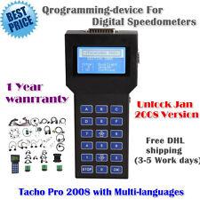 Tacho Pro 2008 Dashboad Programmer UNLOCK digital speedometers Multi-language