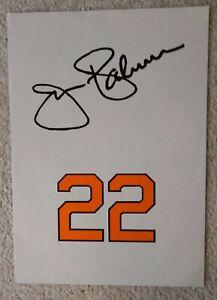 Jim Palmer Poster Baltimore Orioles Baseball Hall of Fame HOF