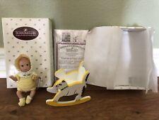Ashton Drake Heavenly Handfuls 4� Miniature Tiny Doll Yellow Original Minty See!
