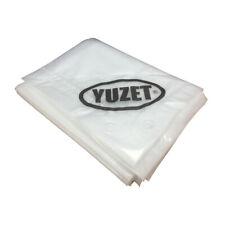 Yuzet Clear Heavy Duty Reinforced Waterproof Tarpaulin Cover Ground Sheet Stall