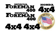 Honda Foreman 400 Trx400 S ES Stickers Decal Emblem Kit Of 5