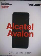 NEW! VERIZON PREPAID ALCATEL AVALON Android Smartphone - 1.4GHZ, 16GB,