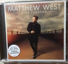 LIVE FOREVER CD - Matthew West (CCM) (2015, Sparrow Records) Brand New