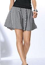 Patrizia Dini by Heine Rock 44 Schwarz Weiß Kurz Style Skirt Black White Top NEU