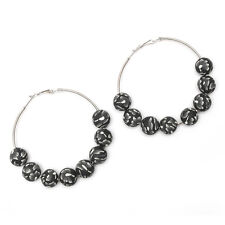 Handmade Hook Costume Earrings without Stone
